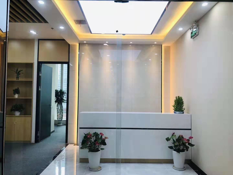 中融恒瑞国际大厦出租220平办公室精装修带家具