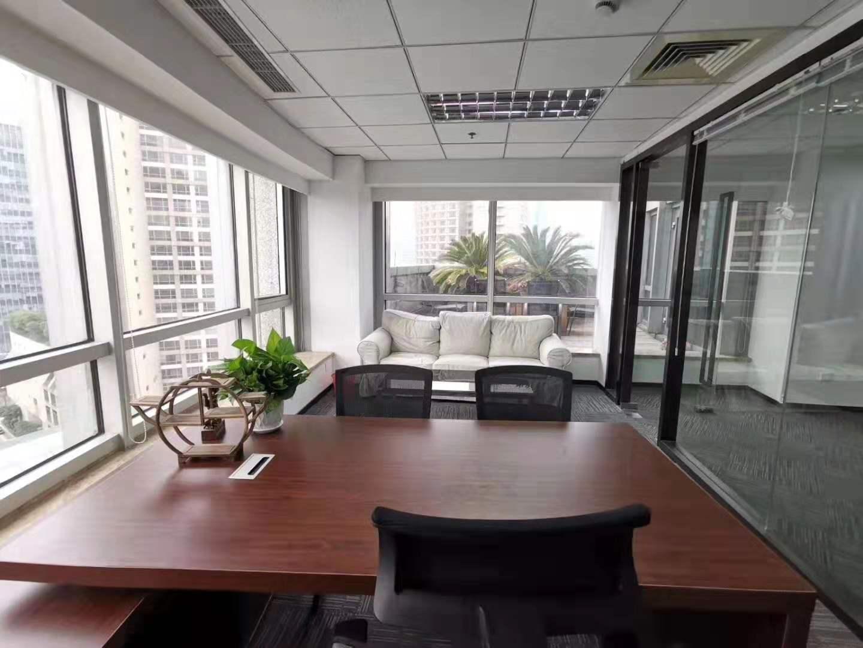 生命人寿大厦出租228平办公室精装修带家具