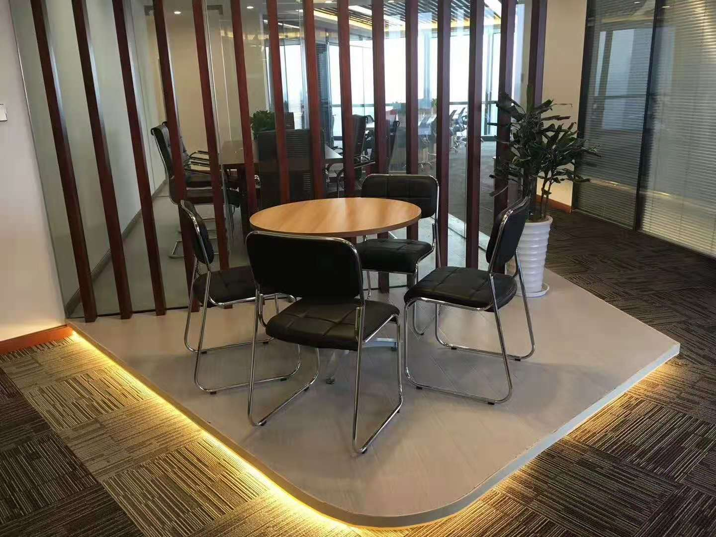 宝矿国际大厦出租154平写字楼精装修带家具