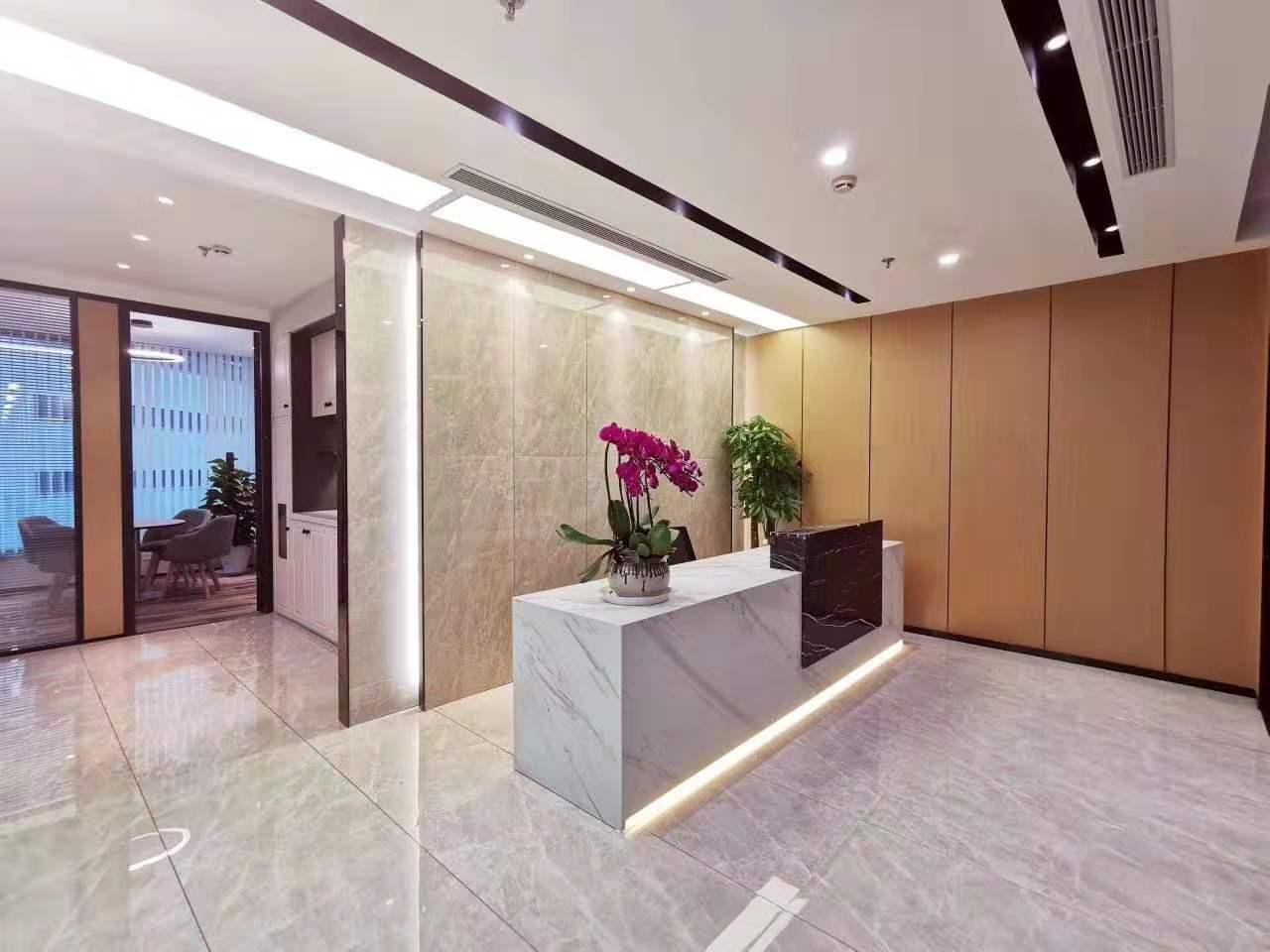 上海证券大厦出租187平办公室精装修带家具