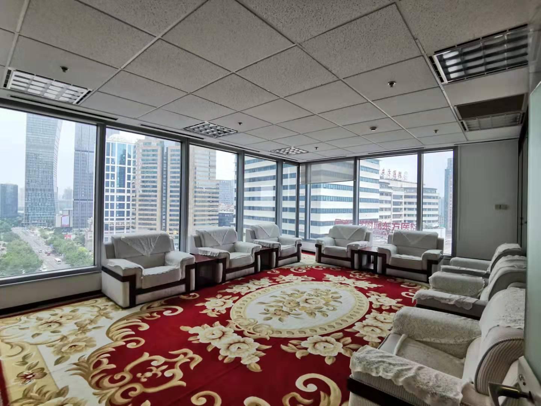 上海证券大厦出租448平办公室精装修带家具