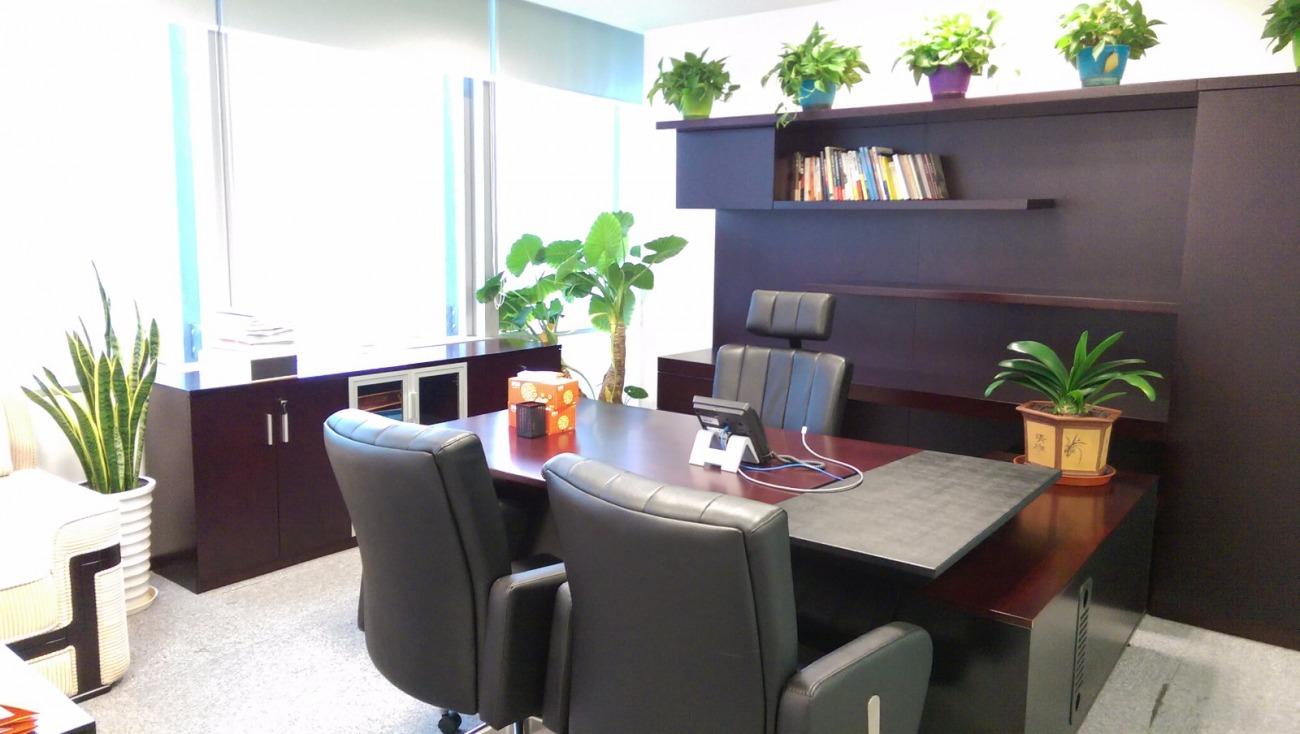 东方金融广场B座出租624平办公室精装修带家具