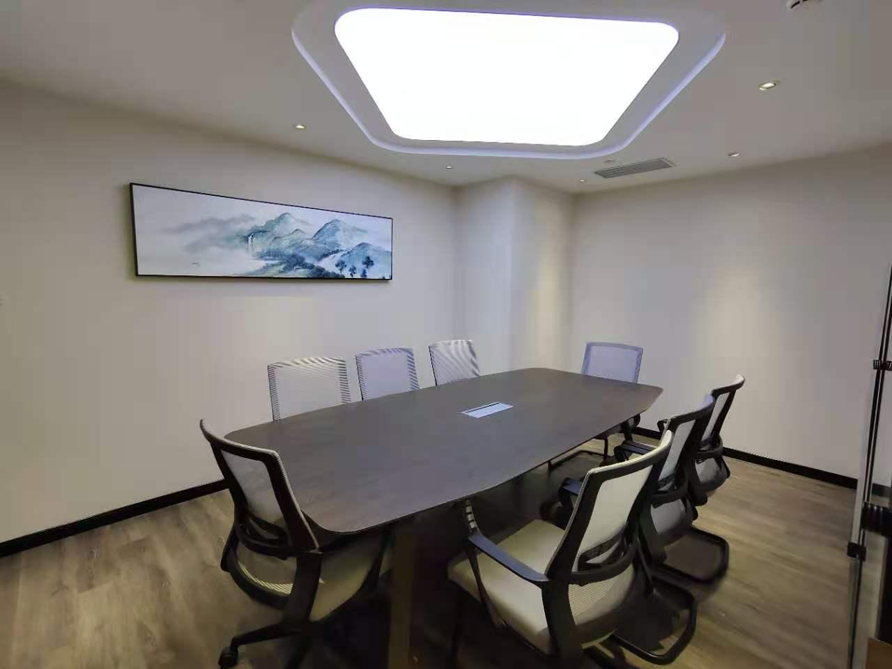 宝矿国际大厦出租545平写字楼精装修带家具
