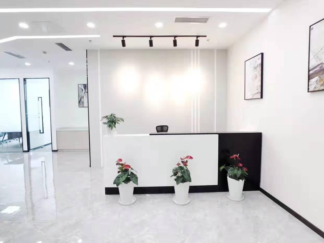 中融恒瑞国际大厦出租380平办公室精装修带家具