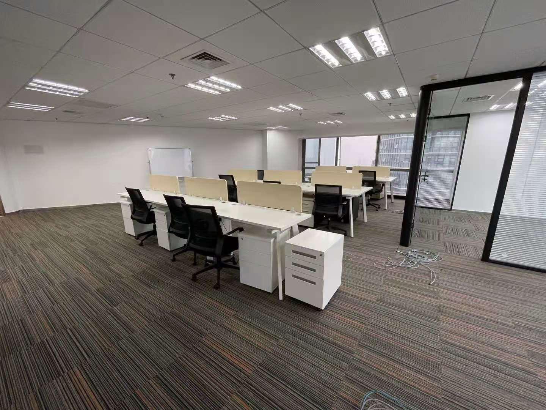 宝矿国际大厦出租700平写字楼有装修无家具