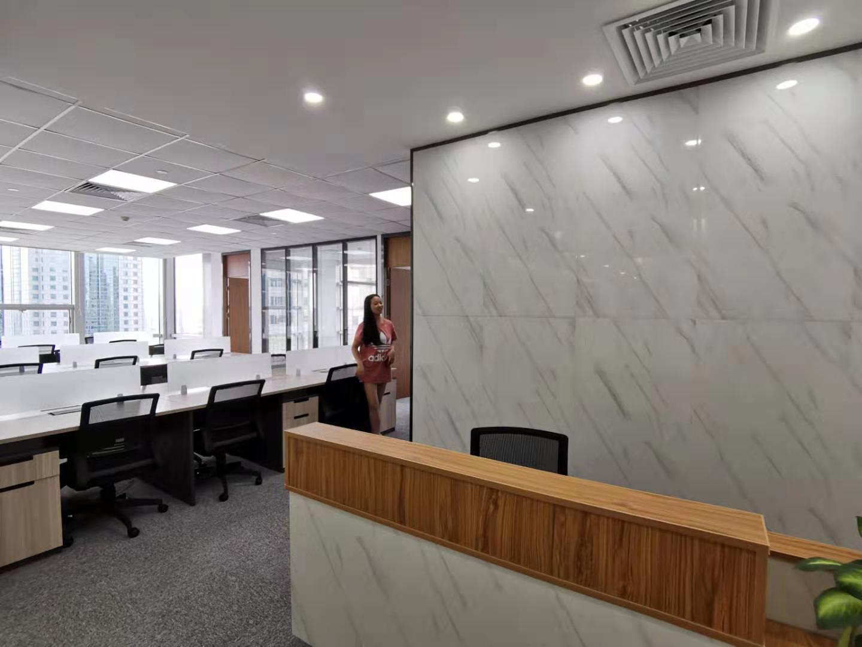 同盛大厦出租417平办公室精装修带家具