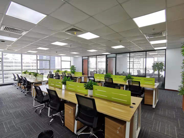 双鸽大厦出租342平办公室精装修带家具