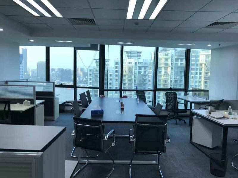 裕景国际商务广场B座出租350平办公室精装修带家具