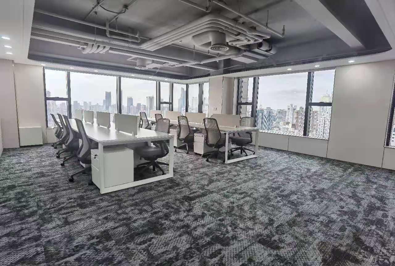 新世界大厦K11出租856平写字楼精装修带家具