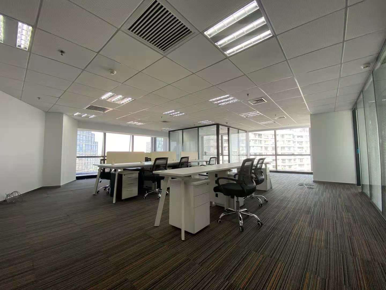 宝矿国际大厦出租1200平写字楼有装修无家具