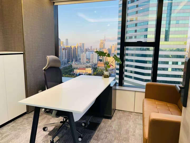 新世界大厦K11出租345平写字楼精装修带家具
