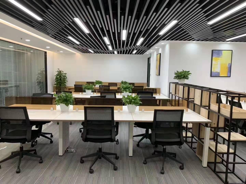 钱江大厦出租436平办公室精装修带家具