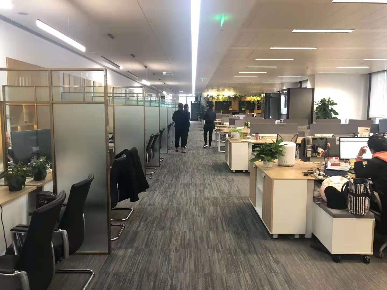 BFC外滩金融中心出租744平写字楼精装修带家具