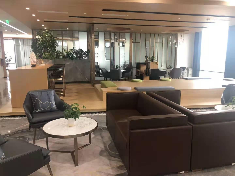 BFC外滩金融中心出租1215平写字楼精装修带家具