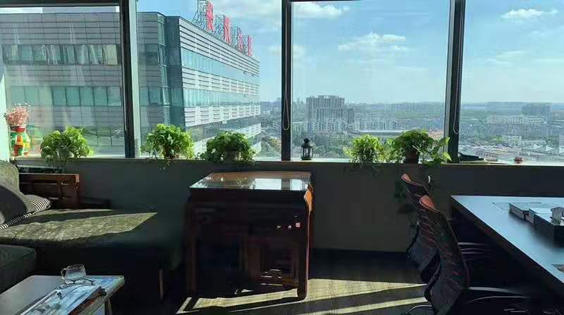 万科活力城出租257平办公室精装修带家具