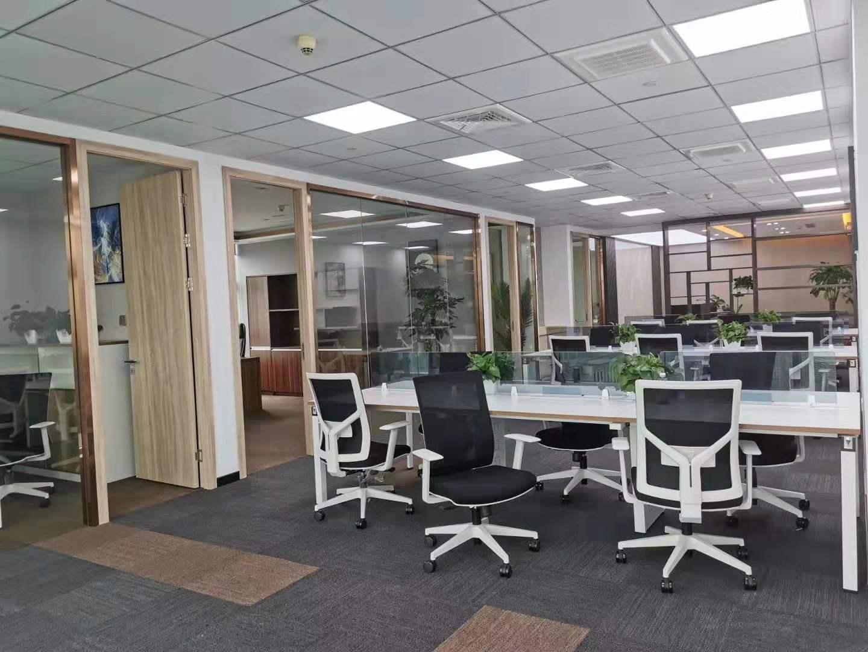 海通证券大厦出租335平写字楼精装修带家具