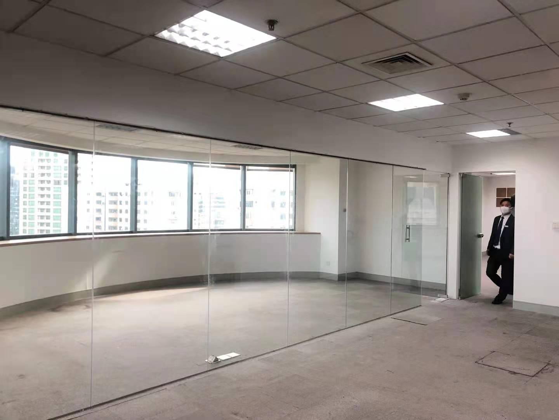 远洋商业大厦(原东海商业中心)出租295平写字楼有装修无家具