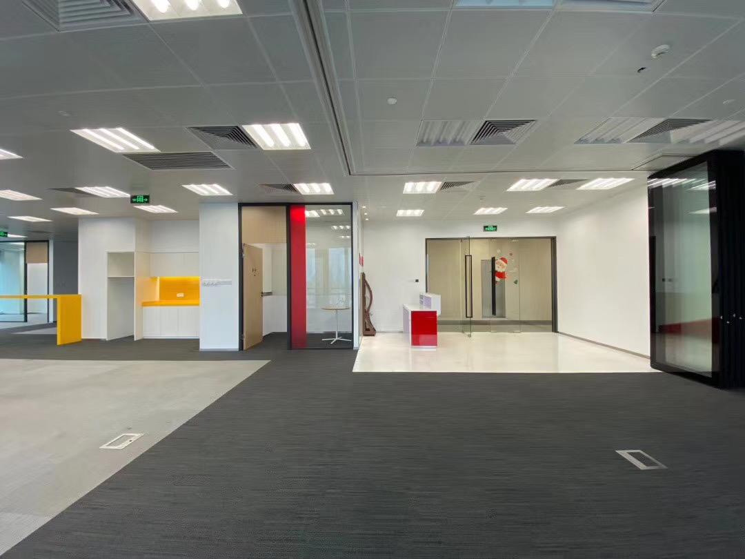中海国际中心出租187平写字楼有装修无家具