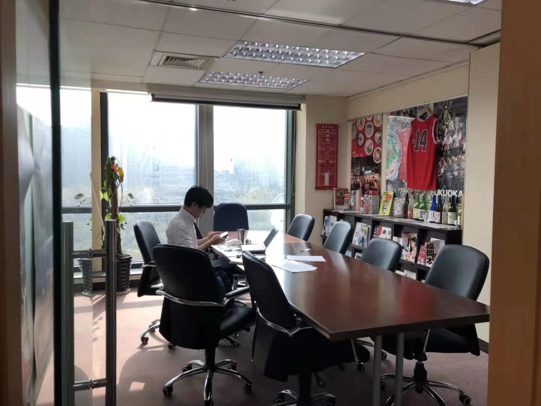 博银国际大厦出租345平写字楼精装修带家具