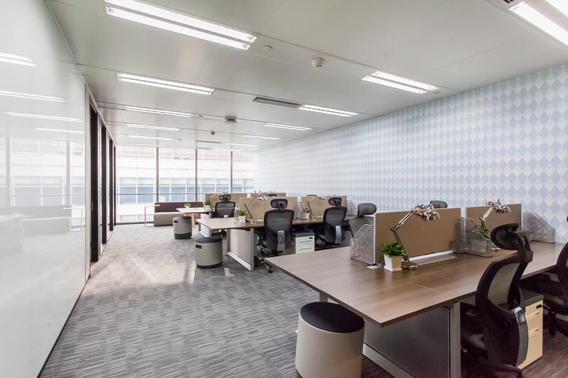 上海华旭国际大厦寰图ATLAS出租6人间带窗户现房