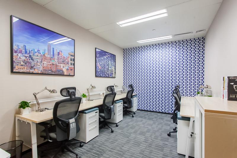 上海华旭国际大厦寰图ATLAS出租3人间带窗户现房