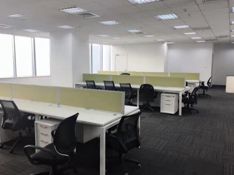越秀大厦出租280平办公室精装修带家具