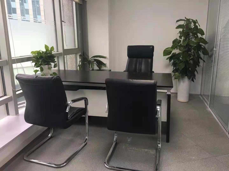生命人寿大厦出租131平办公室精装修带家具
