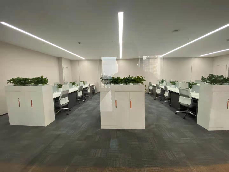 恒基名人商业大厦出租463平写字楼精装修带家具