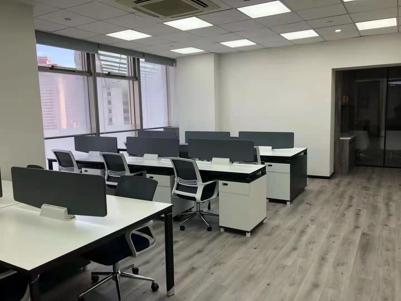鄂尔多斯大厦出租198平办公室精装修带家具