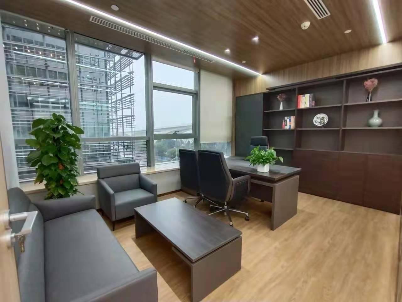 中融恒瑞国际大厦出租356平办公室有装修无家具