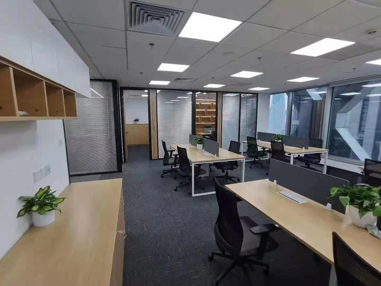 上海证券大厦出租287平办公室精装修带家具
