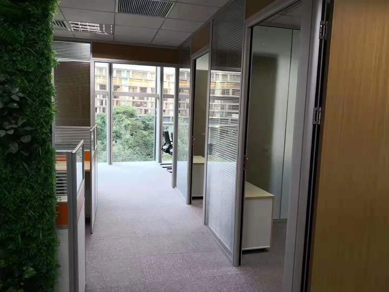 未来资产大厦出租171平办公室精装修带家具