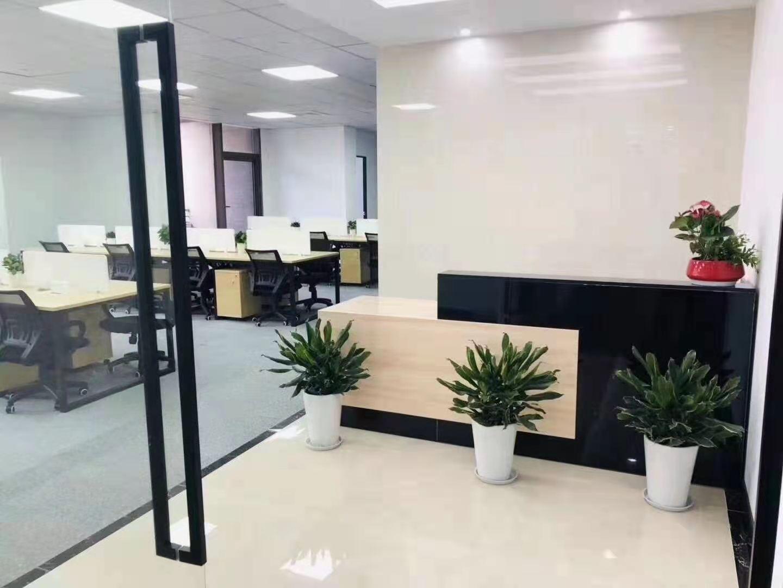 云顶国际商业广场出租283平办公室精装修带家具