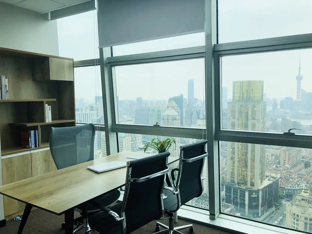 海通证券大厦出租354平写字楼精装修带家具
