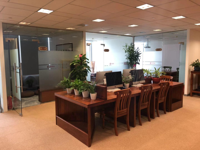 金茂大厦出租211平办公室精装修带家具