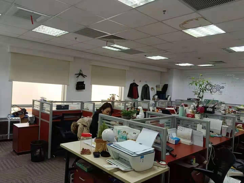 亚洲大厦出租366平写字楼精装修带家具