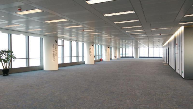 炬芯研发大楼出租476平办公室有装修无家具
