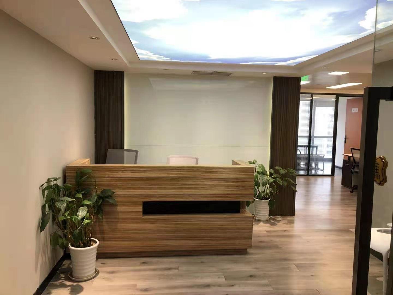 汤臣金融大厦出租207平办公室精装修带家具