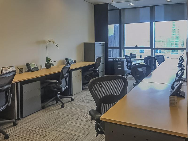 创兴金融中心TEC德事商务中心出租4人间带窗户现房