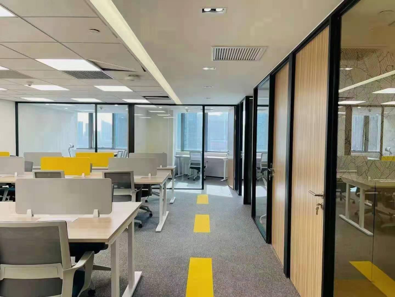 东方国际科技大厦出租317平办公室精装修带家具