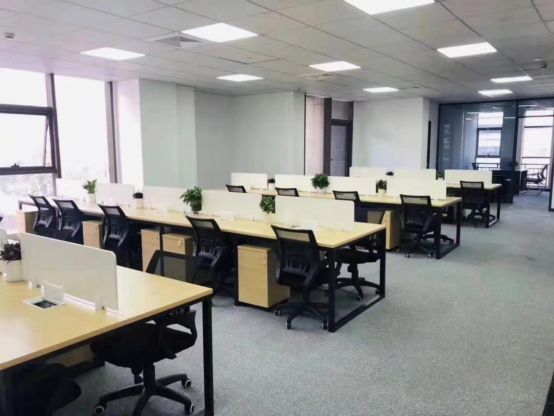 云顶国际商业广场出租324平办公室精装修带家具