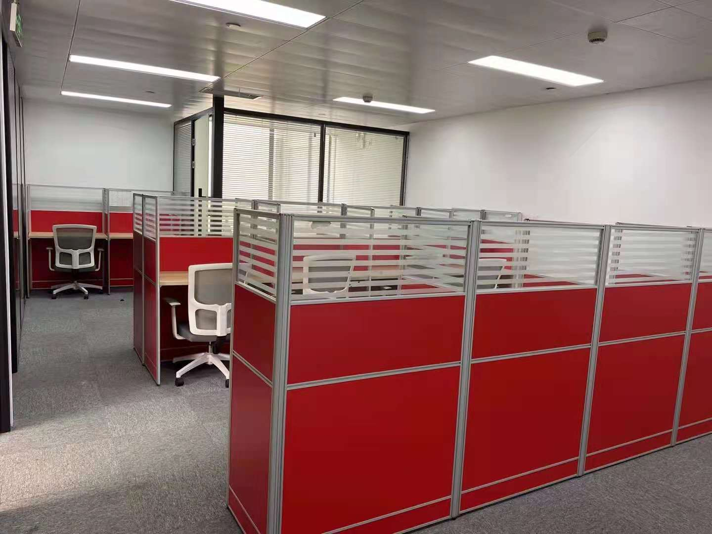 一百杉杉大厦出租172平办公室精装修带家具
