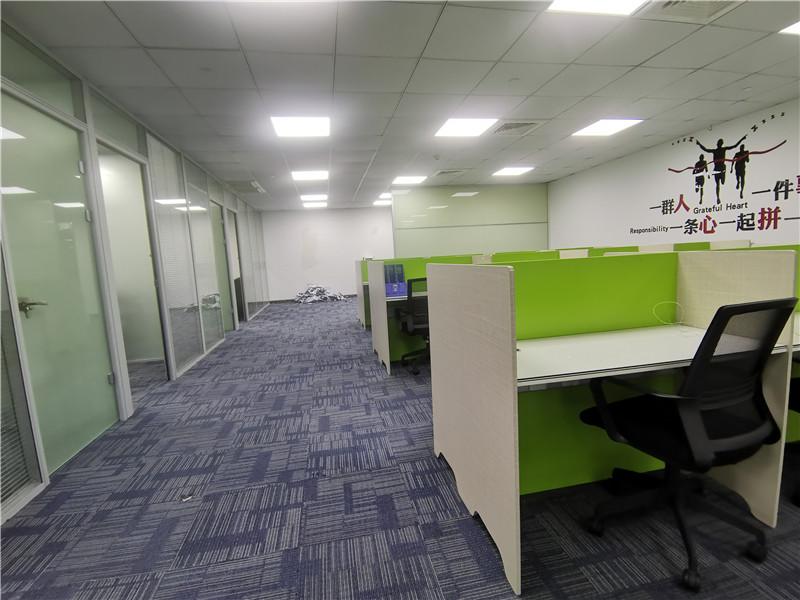 安航企业中心出租236平办公室精装修带家具