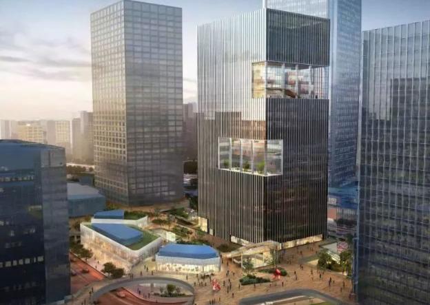 诺布中心入市,徐汇滨江又新添甲级办公楼