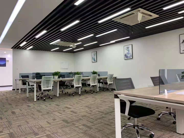 浦东软件园郭守敬园出租138平办公室精装修带家具