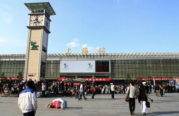 新静安上海火车站附近的写字楼出租的楼有哪些?