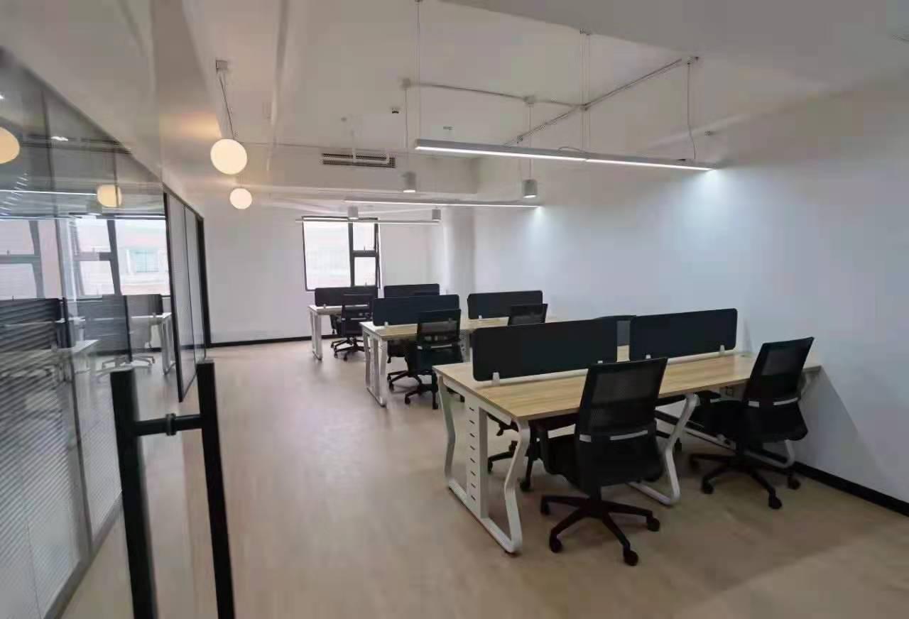 宝华城市晶典大厦出租122平写字楼有装修无家具