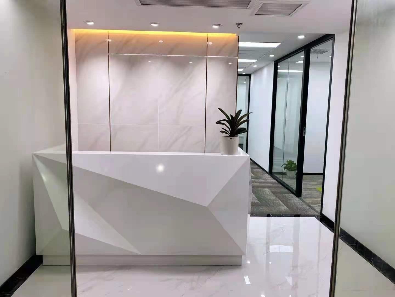 嘉兴大厦出租134平办公室精装修带家具