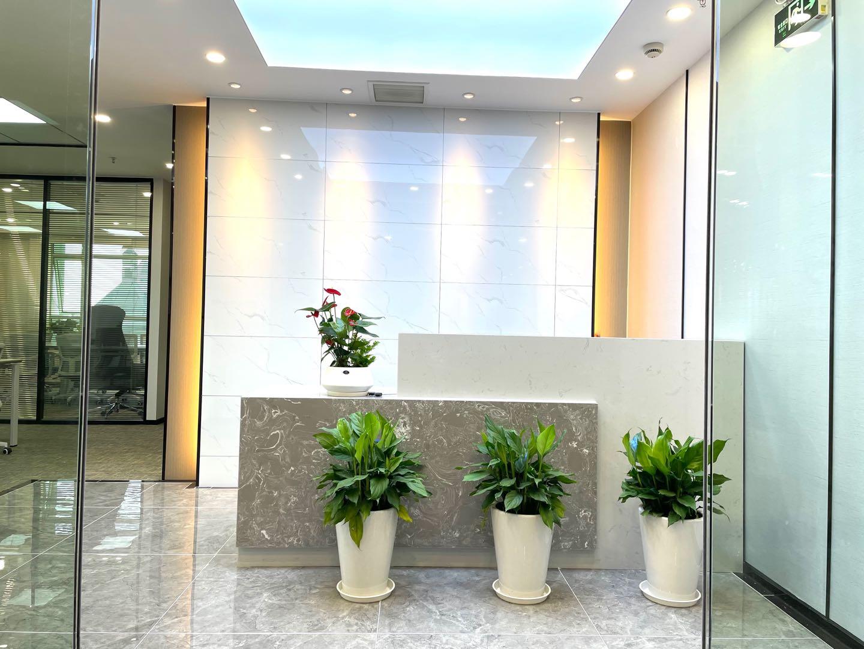金融广场出租310平写字楼精装修带家具
