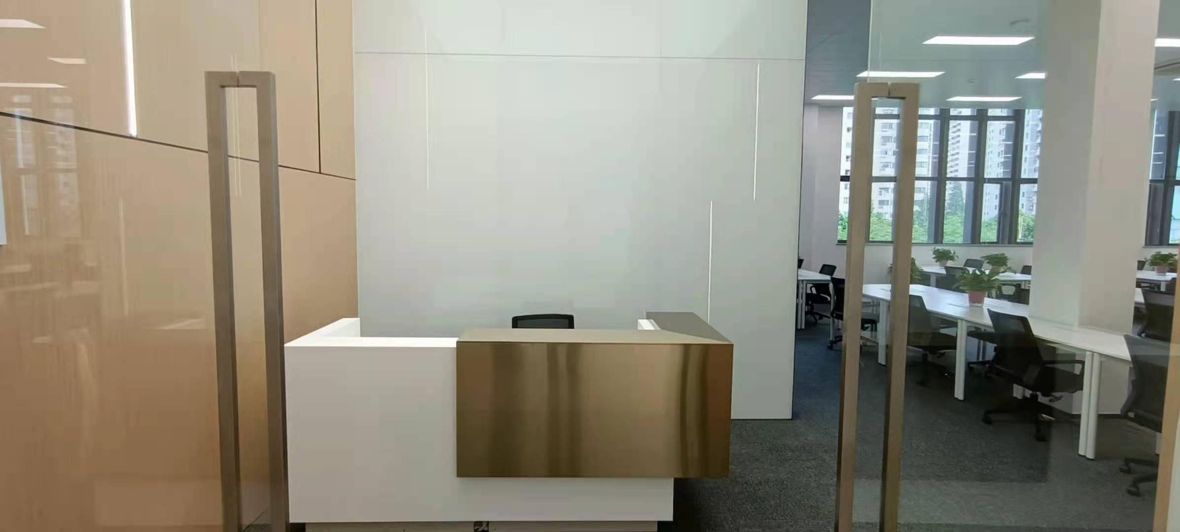 陆家嘴软件园出租490平办公室精装修带家具